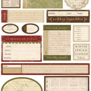 [Pin It] Melissa Frances - Designer Stickers - Date prompts