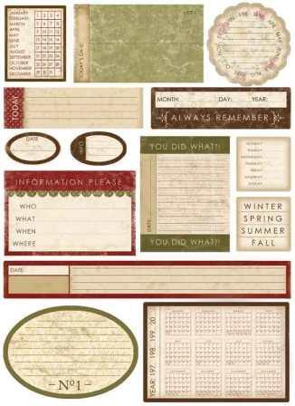 [Pin It] Melissa Frances - Designer Stickers - Date prompts