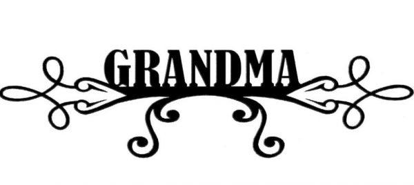 Scrapbook 101 - Grandma - Mini Photogenix Laser Die Cuts