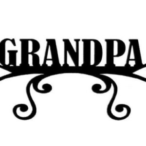 Scrapbook 101 - Grandpa - Mini Photogenix Laser Die Cuts