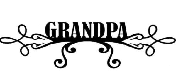 Scrapbook 101 - Grandpa - Mini Photogenix Laser Die Cuts