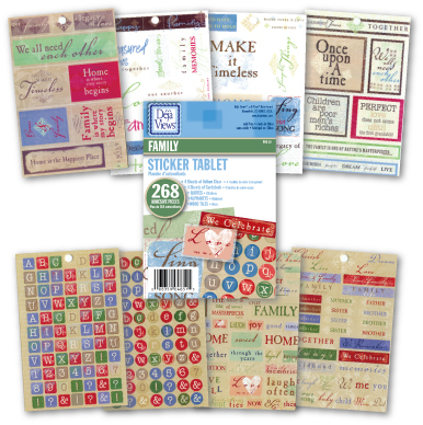 Family Sticker Pack by Deja-Views