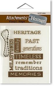 Heritage Vinyl Tags
