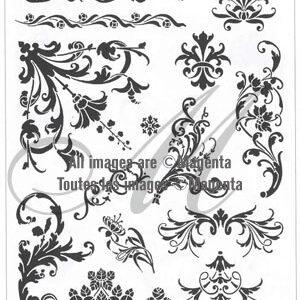 Magenta Stamps - Victorian Designs
