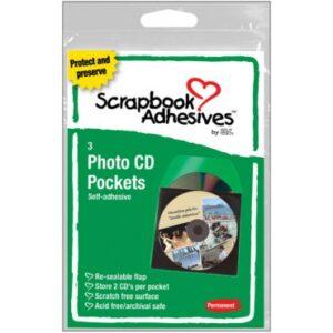 Scrapbook Adhesives - Photo CD Pockets