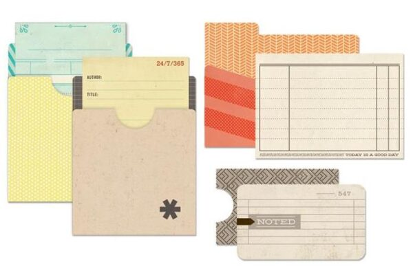 Memories Capture Collection - Library Pockets & Inserts
