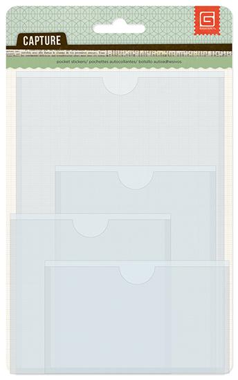 Basic Gray - Capture - Pocket Stickers