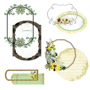 Origins - Take Note Journaling Cards With Transparencies