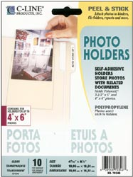Peel & Stick Photo Holders