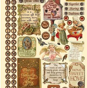 Heartwarming Vintage Stickers - Family Matters by Crafty Secrets