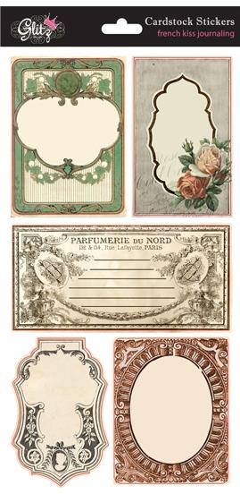 Glitz Designs - French Kiss - Cardstock Stickers