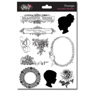 Glitz Design - Beautiful Dreamer - Clear Stamps