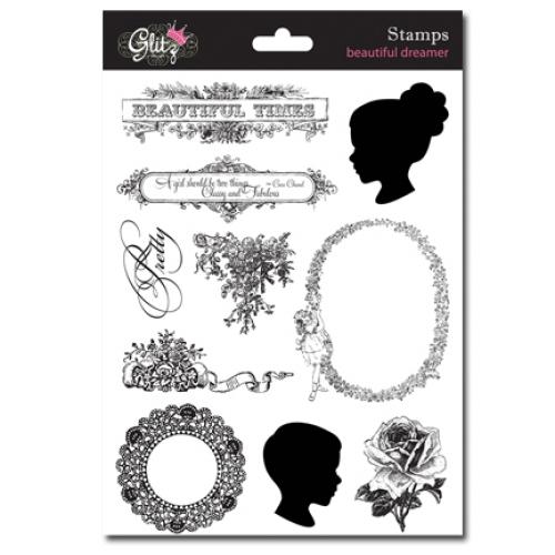 Glitz Design - Beautiful Dreamer - Clear Stamps