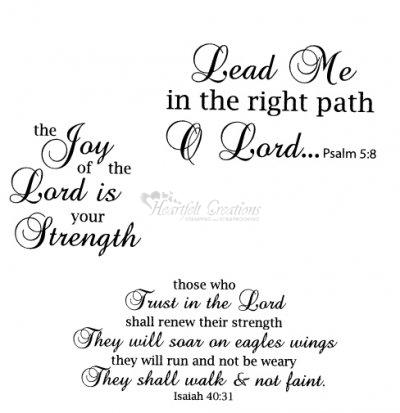 Heartfelt Creations - Trust In The Lord