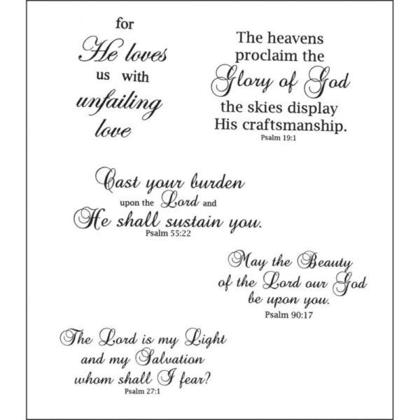 Heartfelt Creations - Uplifting Scriptures