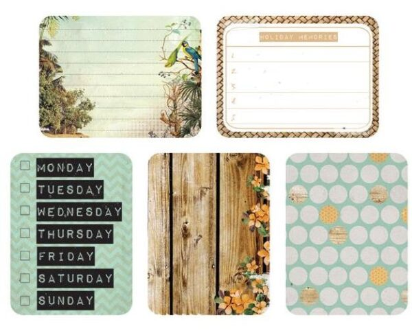 """Captured Moments - 3""""X4"""" Double-Sided Cards - Getaway"""