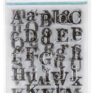 Distressad Alphabet - Kaisercraft - Clear Stamps
