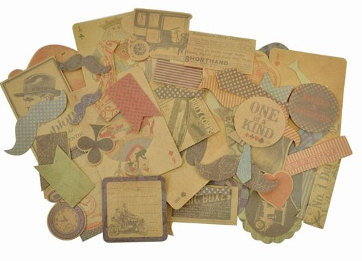Kaisercraft - Sears & Son Collectables Cardstock Die-Cuts