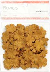 Paper Flowers - 2cm - Sepia
