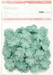Paper Flowers - 2cm - Sky Blue