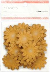 Paper Flowers - 3.5cm - Sepia