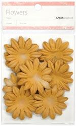 Paper Flowers - 5 cm - Sepia