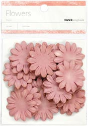 Paper Flowers - 3.5cm - Dusty Rose