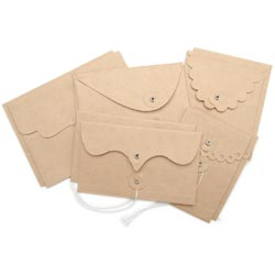 Maya Road - Kraft Envelope With Flap & String