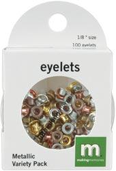 Eyelets - Circle Metallic