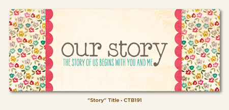 Collectable Unforgettable: Cardstock Title - Story