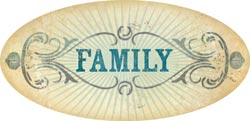 Stella & Rose Hattie - Family - Die-Cut Cardstock Title