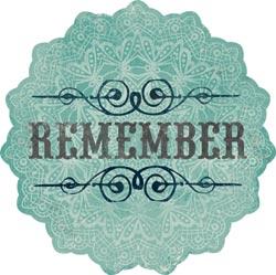 Stella & Rose Hattie - Remember- Die-Cut Cardstock Title