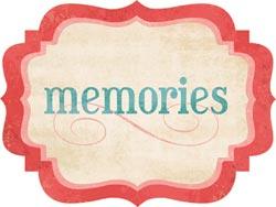 Stella & Rose Hazel - Memories - Die-Cut Cardstock Title