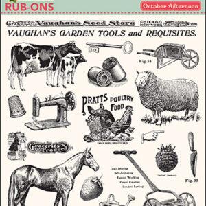 Farmhouse Rub-Ons