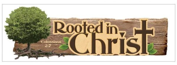 Paper House - Rooted In Christ - 3D Title Sticker