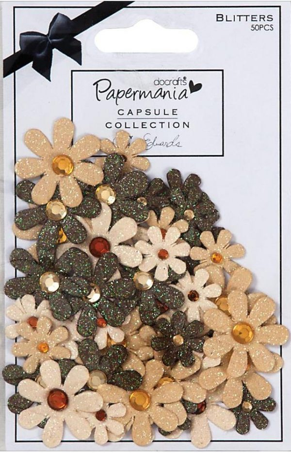 Papermania - Lincoln Linen - Blitters
