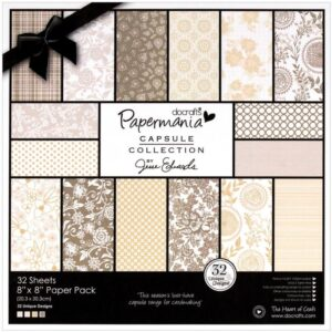 "Papermania - Lincoln Linen Pack 8""X8"""