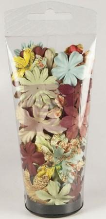 Prima Marketing - Romantique Essentials II Paper Flowers