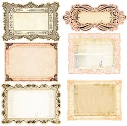 Almanac Collection - Journaling Notecards
