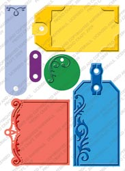 "Cuttlebug 5""x7"" Embossing Plus - Embossed Tags"