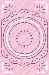 Cuttlebug Embossing Plus - Chic Circle Frame