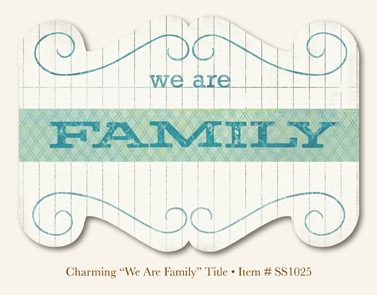 """So Sophie - Charming """"We Are Family """" - Title"""