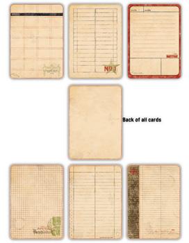 7 Gypsies - Journal Pages - Vintage