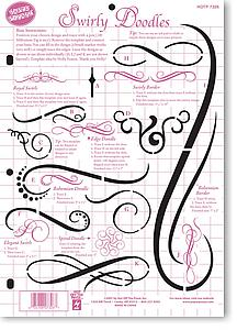 Swirly Doodles Template