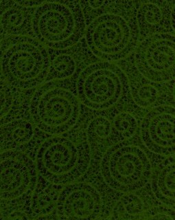 "8 1/2"" x 11"" Green Swirls"