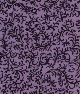 "8 1/2"" x 11"" Lavender with Brocade"