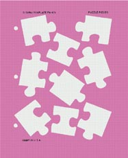 Template - Puzzle Pieces
