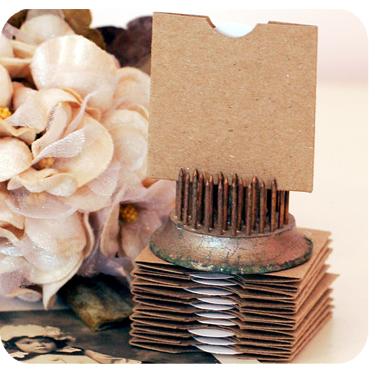 Vintage Attic Treasures Super Mini Envelopes & Tags