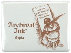 Archival Jumbo Stamp Pad #3 - Sepia