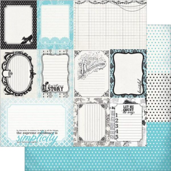 Authentic - Enhancements Cut Apart Journaling Cards